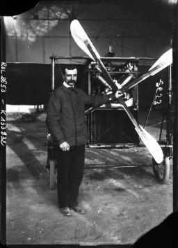 Blériot 8, 23 juillet 1908                       : [photographie de presse] / [Agence Rol]